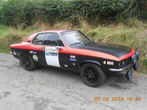 1972 Opel Manta A series For Sale