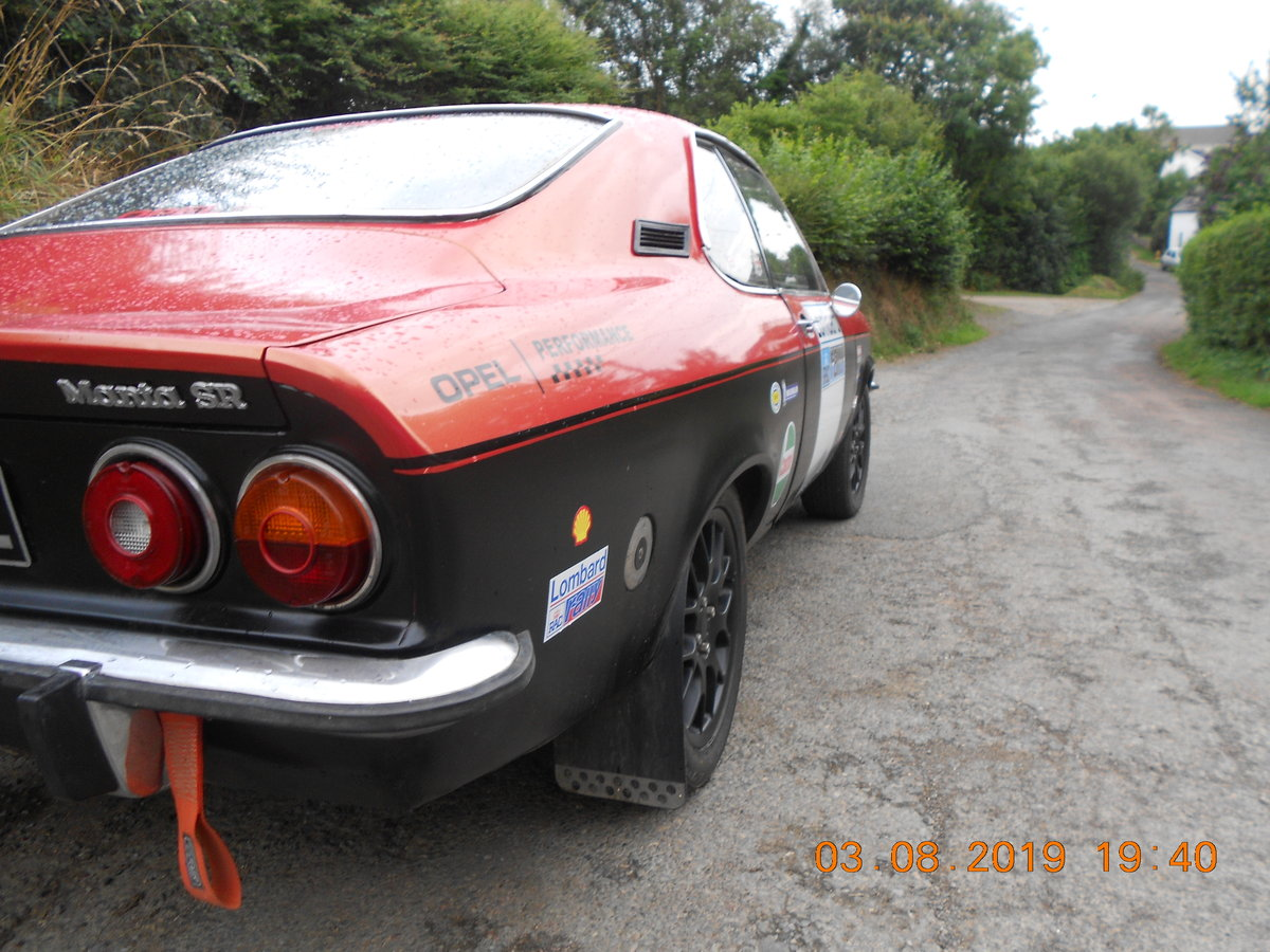 1972 Opel Manta A series For Sale (picture 6 of 6)