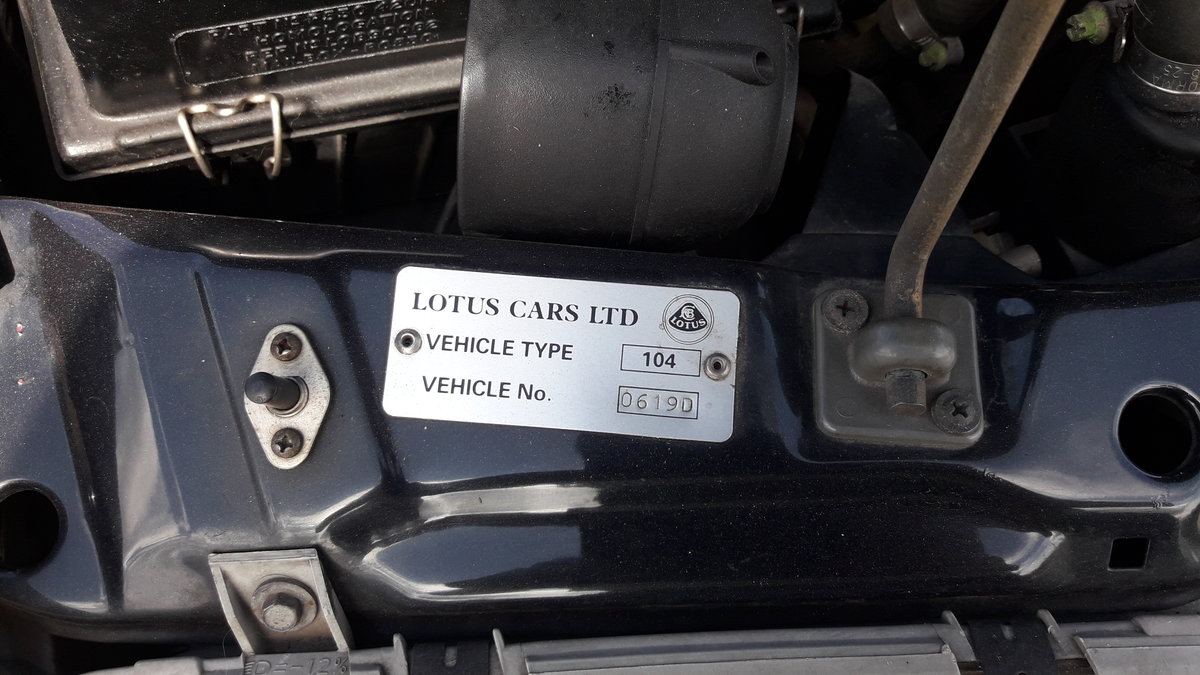 1992 Lotus Carlton OMEGA Only 37000 miles For Sale (picture 3 of 6)