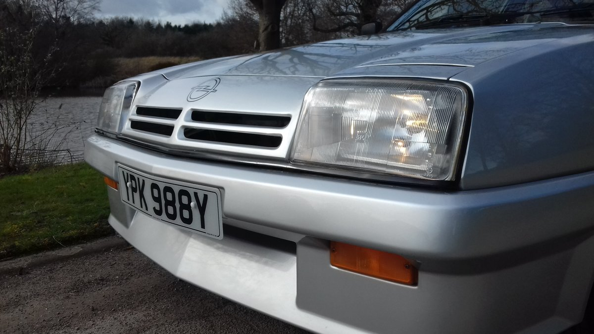 1983 OPEL MANTA BERLINETTA S ~ RARE SIGHT! ~ LOVELY CONDITION!! SOLD (picture 3 of 6)