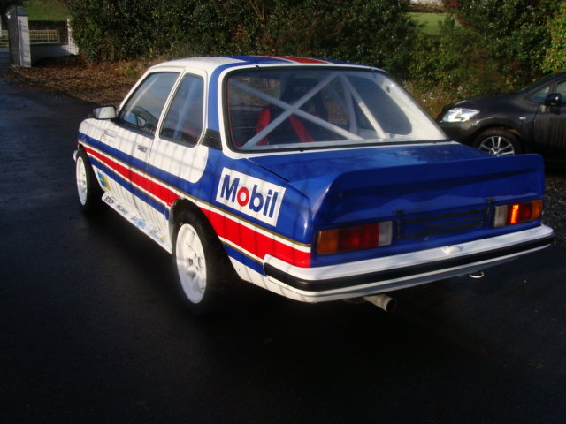 1979 opel ascona historic rally car For Sale (picture 1 of 6)