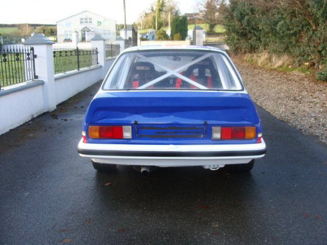 1979 opel ascona historic rally car For Sale (picture 2 of 6)