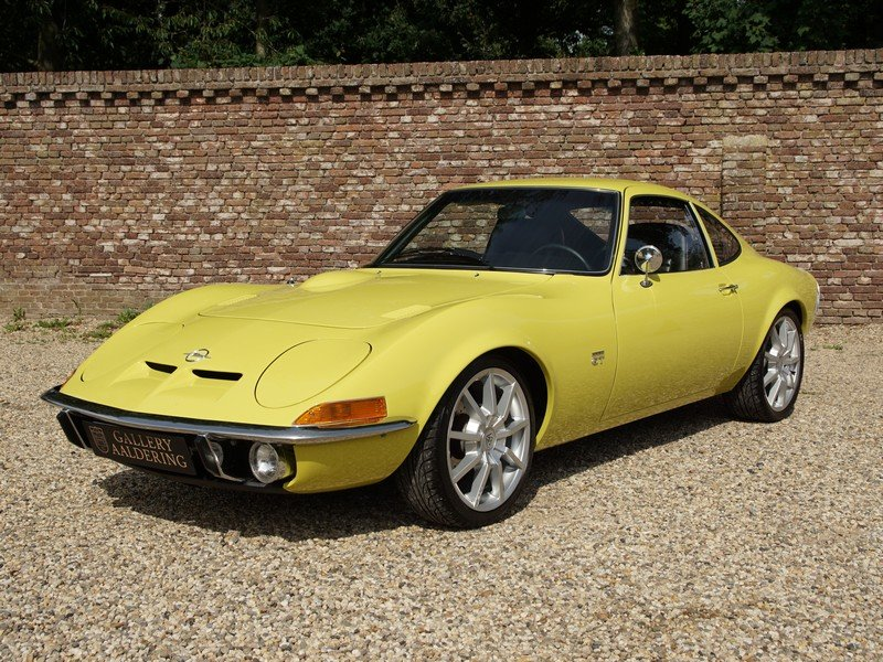 1970 Opel GT 1900 fully restored, 5-speed manual For Sale (picture 1 of 6)