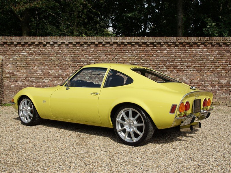 1970 Opel GT 1900 fully restored, 5-speed manual For Sale (picture 2 of 6)