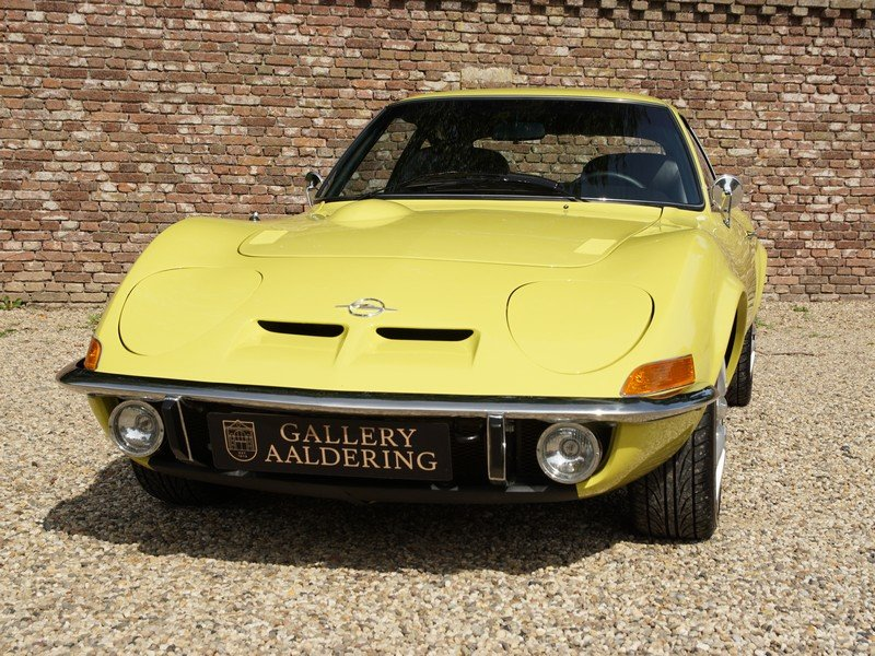 1970 Opel GT 1900 fully restored, 5-speed manual For Sale (picture 5 of 6)