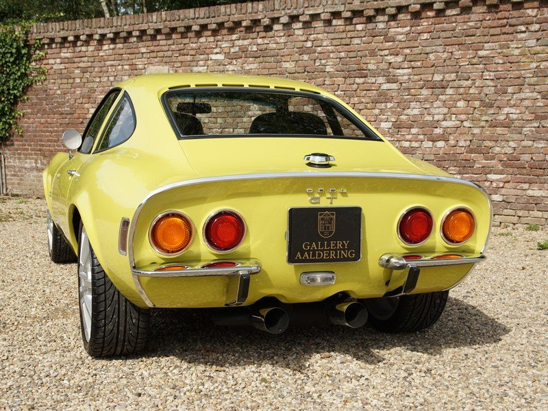 1970 Opel GT 1900 fully restored, 5-speed manual For Sale (picture 6 of 6)