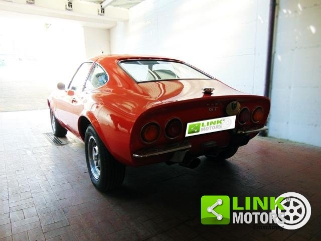 OPEL GT 1.9 DOPPIO CORPO, ANNO 1973, TARGA ORO A.S.I., COMP For Sale (picture 3 of 6)