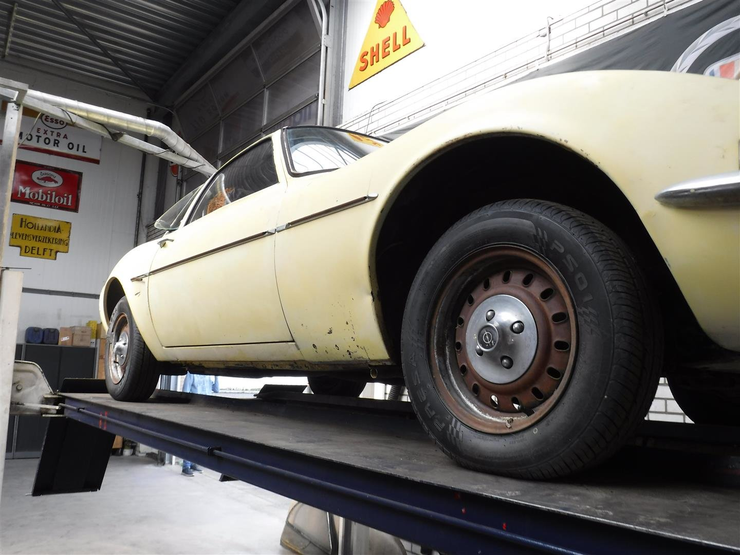 1971 Opel GT 1900 '71 (to restore) For Sale (picture 6 of 6)