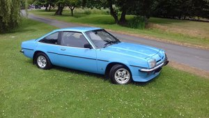 1977  OPEL MANTA B SR COUPE FOR SALE.