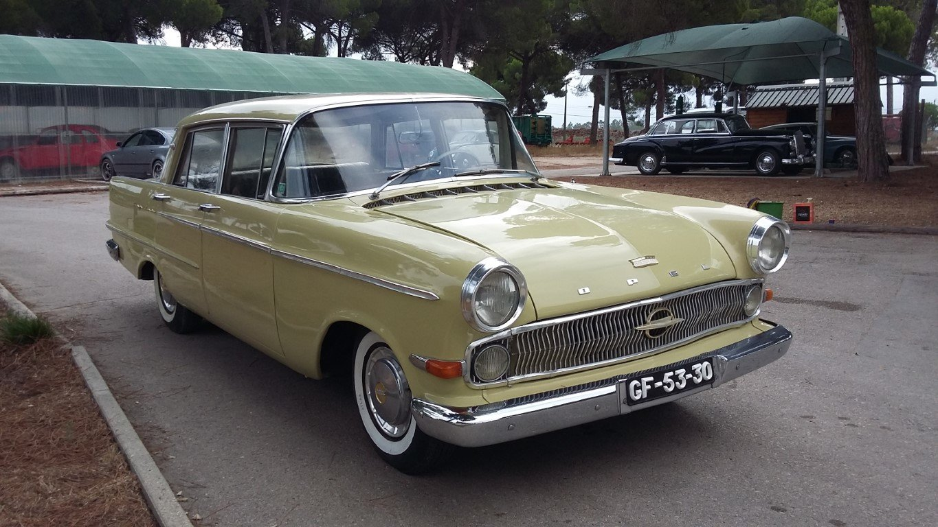 1960 Opel Kapitain in good vondition For Sale (picture 1 of 6)