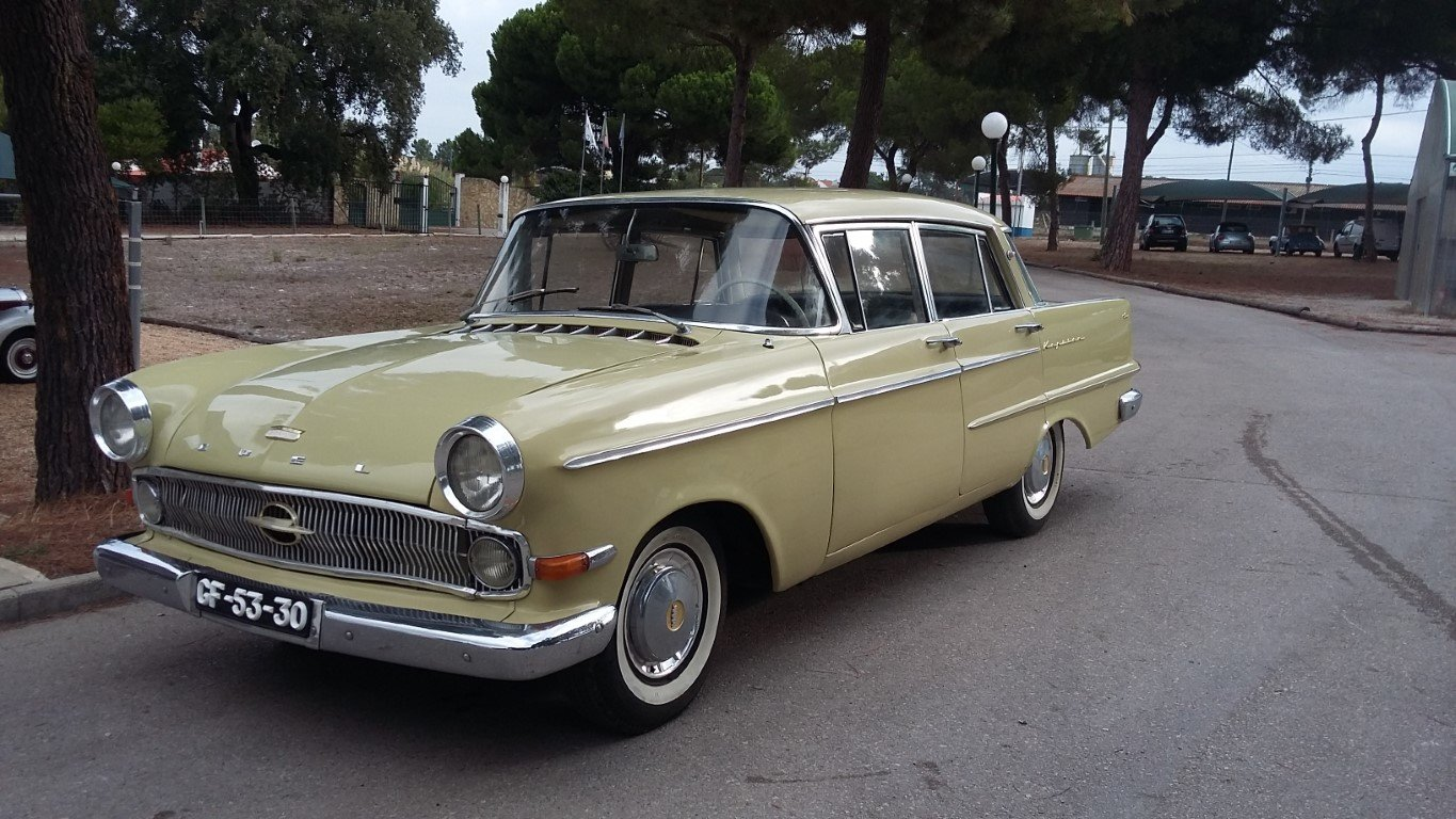1960 Opel Kapitain in good vondition For Sale (picture 4 of 6)