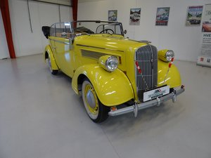 1938 Opel Super 6 2-door Cabriolet For Sale
