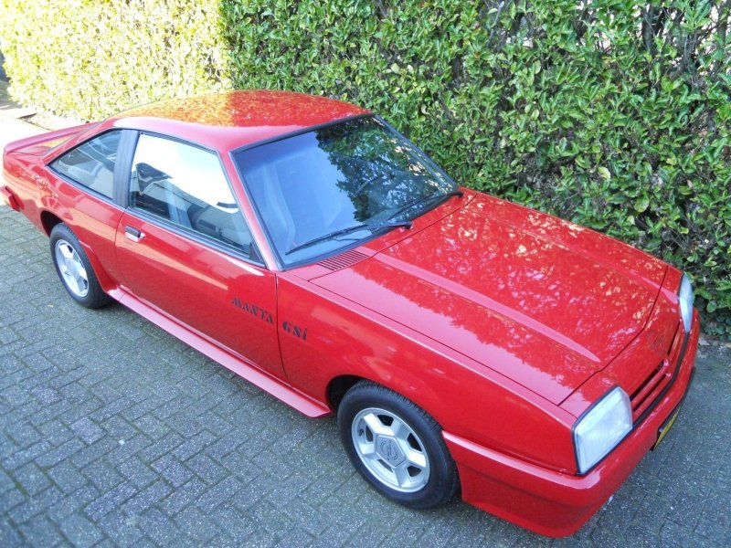 Opel Manta GST 1989 NEW 97 KM  SOLD (picture 1 of 6)