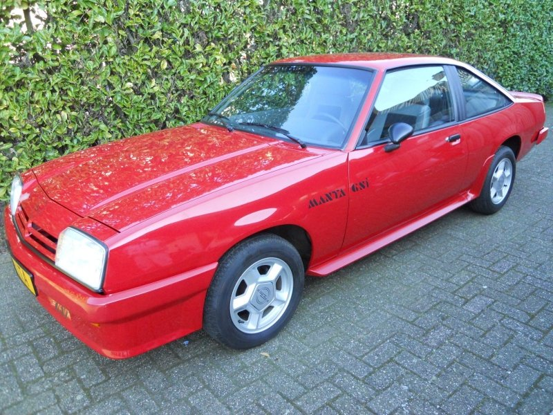 Opel Manta GST 1989 NEW 97 KM  SOLD (picture 4 of 6)