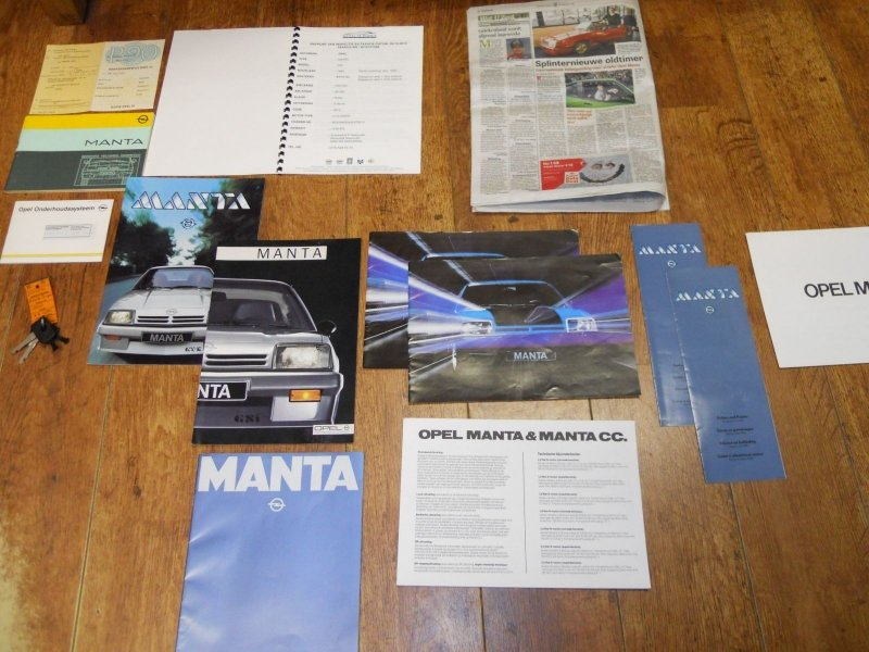 Opel Manta GST 1989 NEW 97 KM  SOLD (picture 5 of 6)