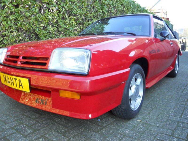 Opel Manta GST 1989 NEW 97 KM  SOLD (picture 6 of 6)