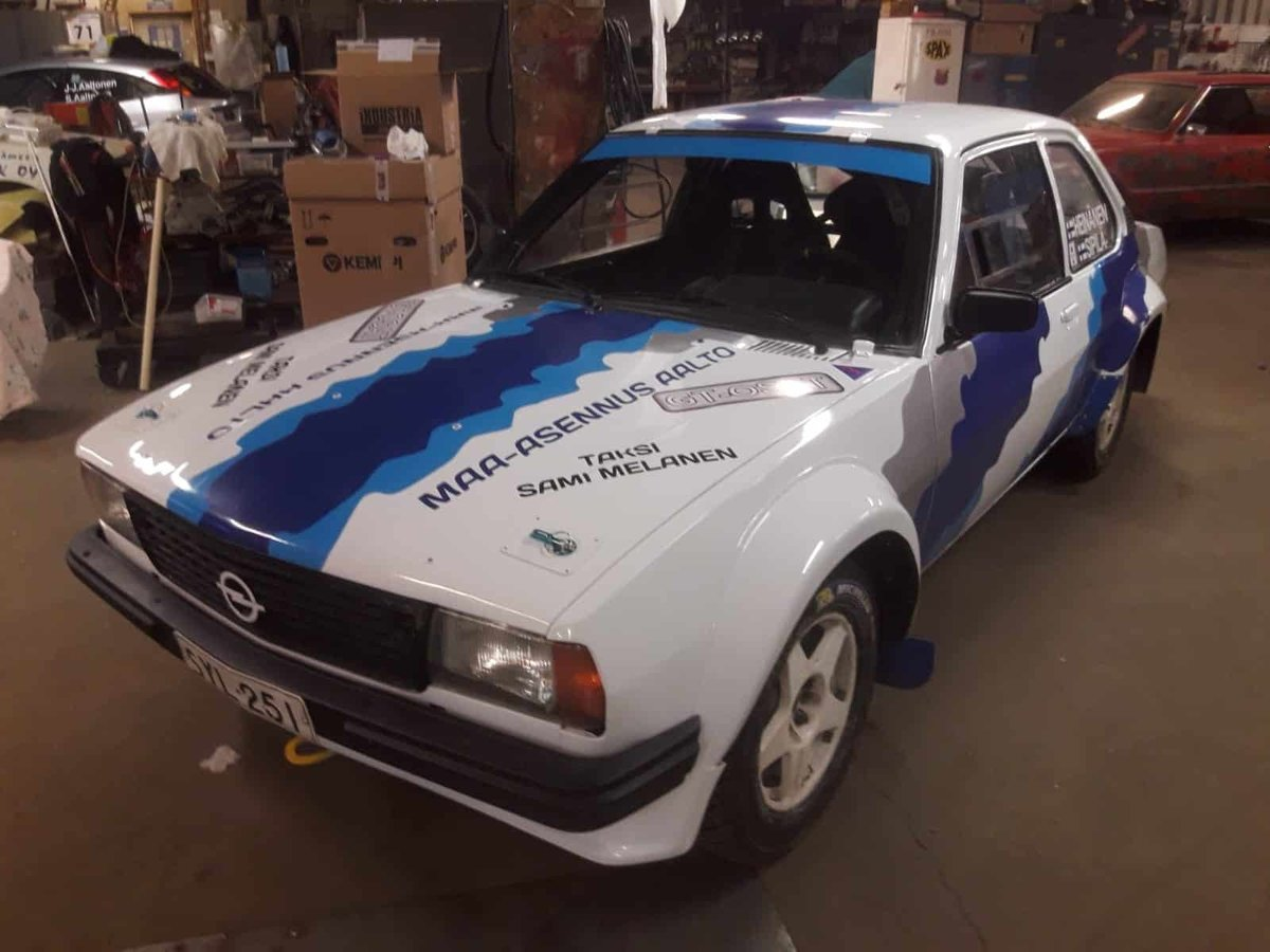 1981 Opel Ascona B Gr.2 For Sale (picture 1 of 5)
