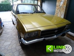 1973 Opel Rekord D unico proprietario GPL Vernice originale For Sale
