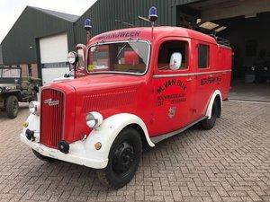 1952 Opel Blitz, Opel Blitz fire truck, Fire truck SOLD