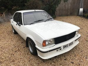 1981 Opel Ascona 2.0s Berlinetta For Sale