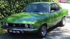 1973 Opel Manta A 1900 For Sale