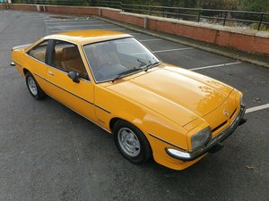1977 Opel Manta coupe 1.9 Berlinetta £1000s spent mint