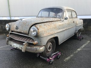 1955 Opel Rekord 2 previous owners - Idea Oily rag candidate