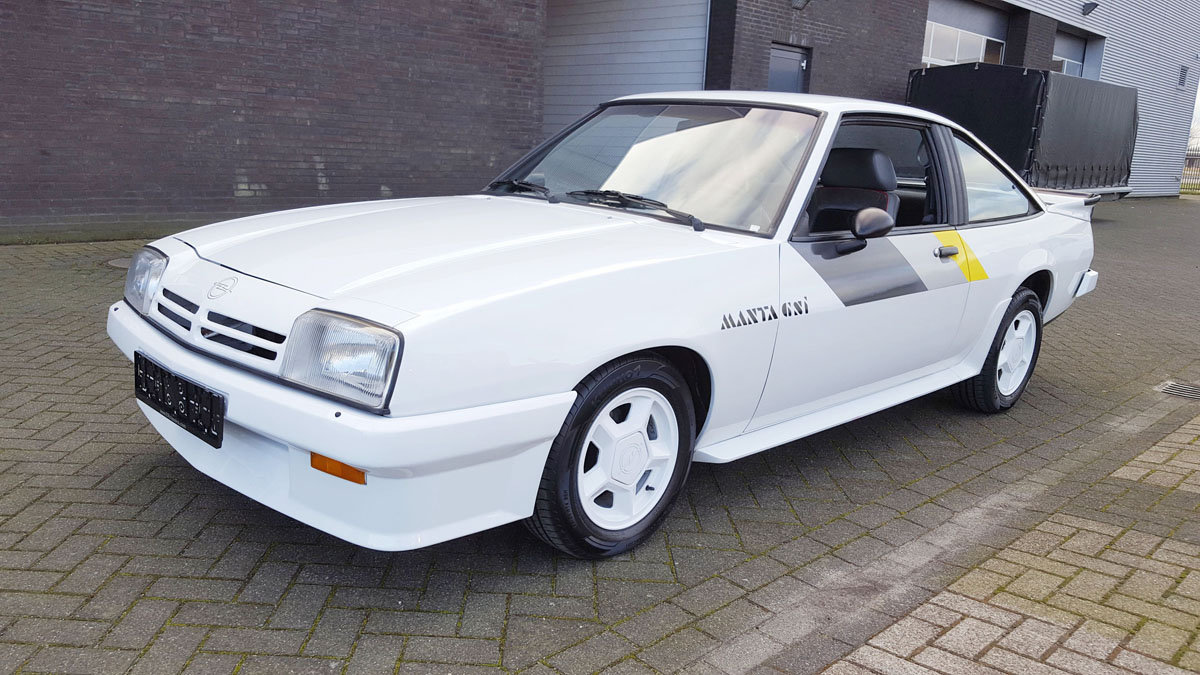 Opel Manta GSI 17 Jan 2020 For Sale by Auction (picture 1 of 6)