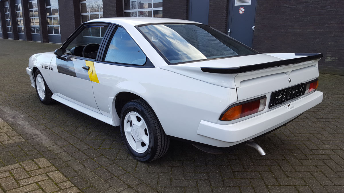 Opel Manta GSI 17 Jan 2020 For Sale by Auction (picture 2 of 6)