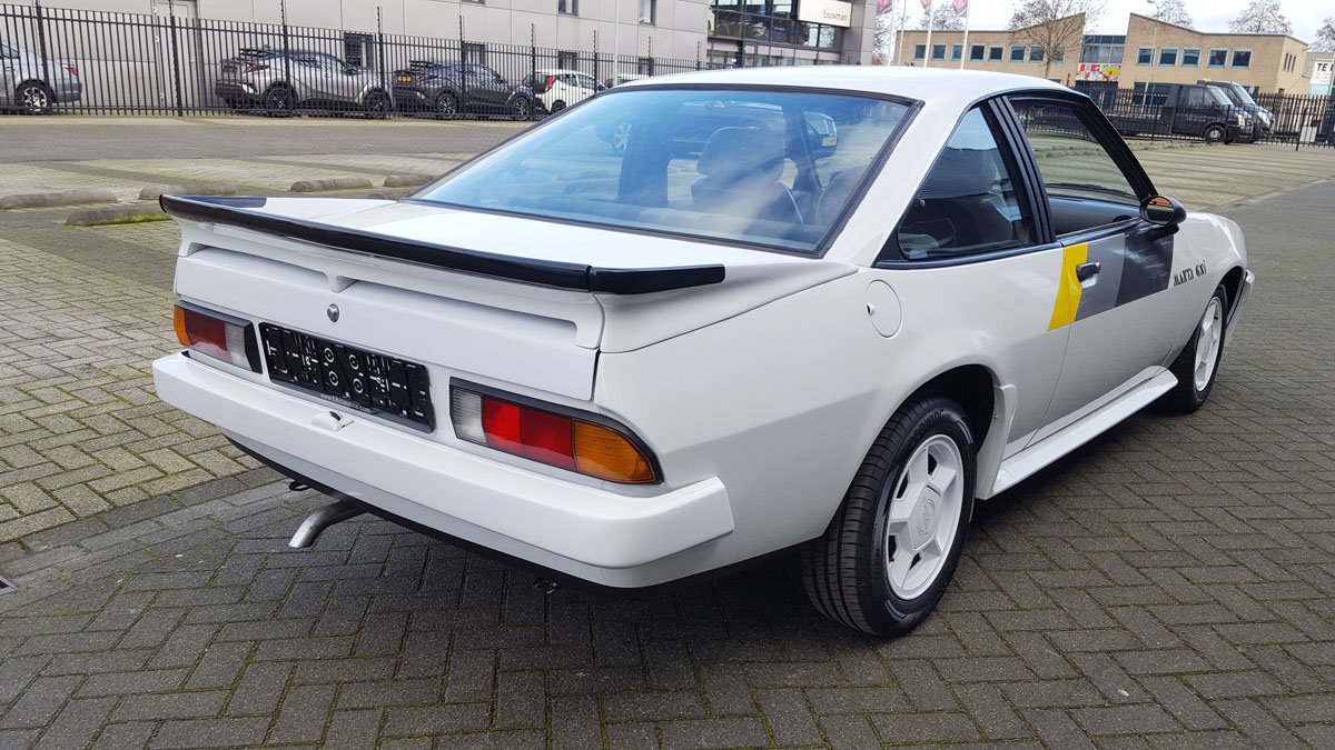 Opel Manta GSI 17 Jan 2020 For Sale by Auction (picture 3 of 6)