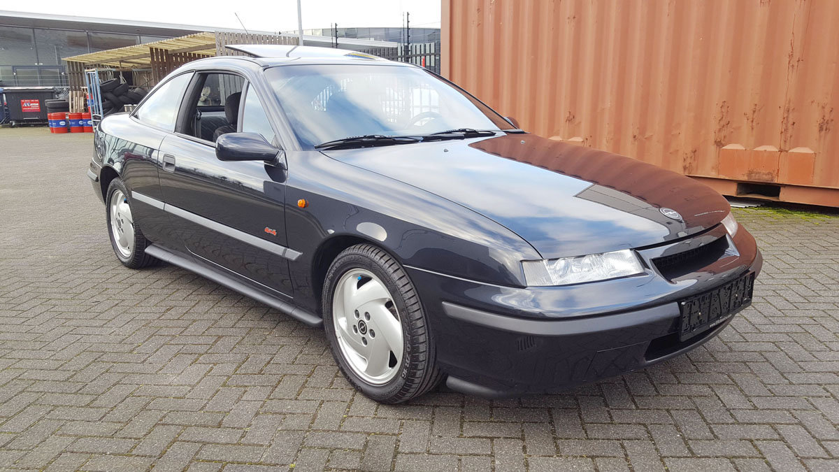 Opel Calibra 4 x 4 Turbo 17 Jan 2020 For Sale by Auction (picture 1 of 5)