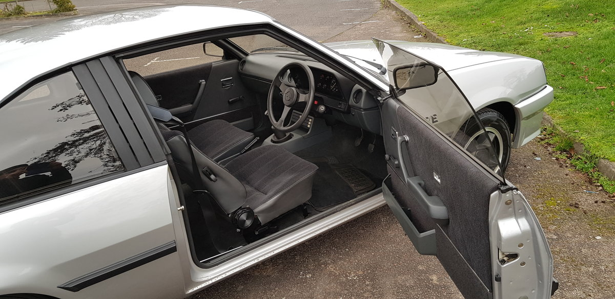 1985 Opel Manta 1.8 Coupe 18,000 miles 2 owners from new SOLD (picture 6 of 6)
