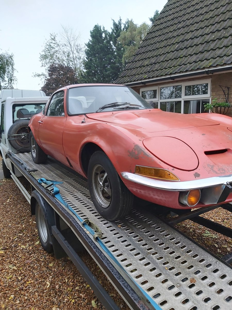 1973 opel gt 1900 usa imported project For Sale (picture 1 of 6)