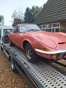 1973 opel gt 1900 usa imported project