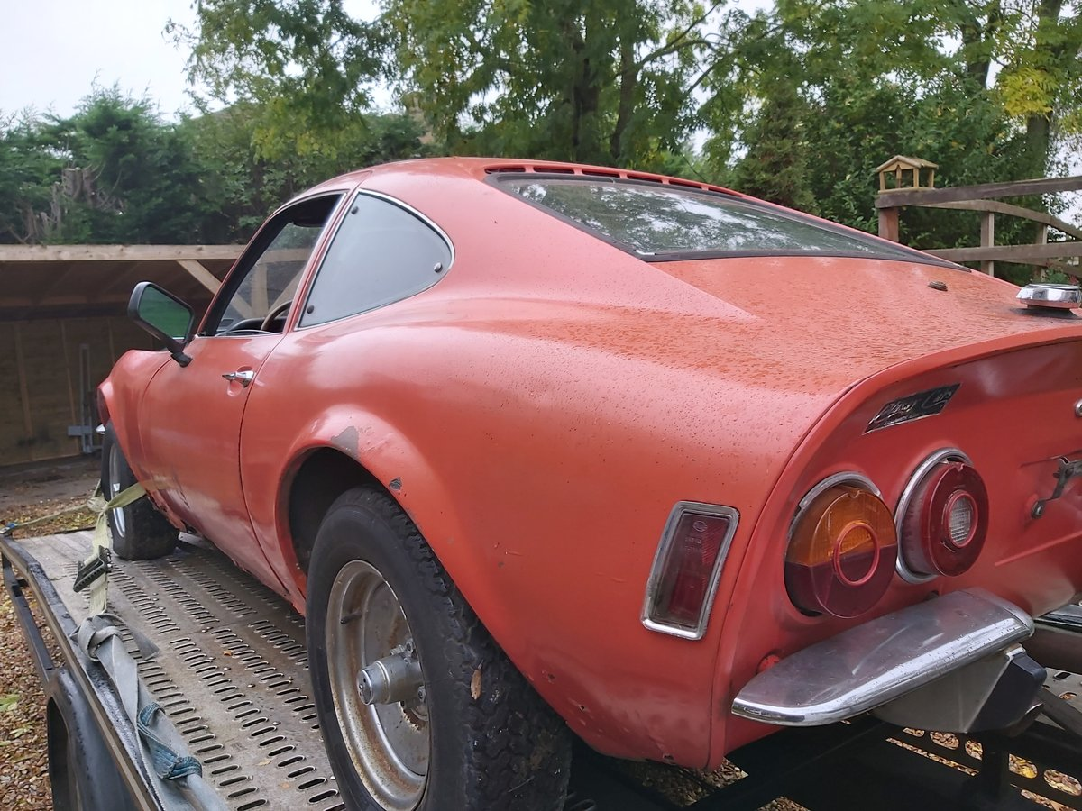 1973 opel gt 1900 usa imported project For Sale (picture 3 of 6)