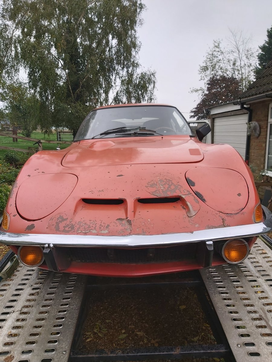 1973 opel gt 1900 usa imported project For Sale (picture 5 of 6)