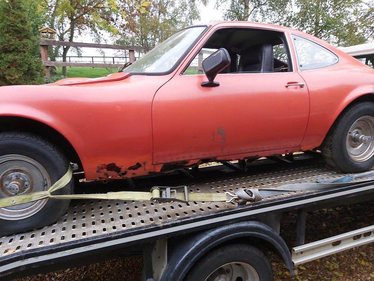 1973 opel gt 1900 usa imported project For Sale (picture 6 of 6)