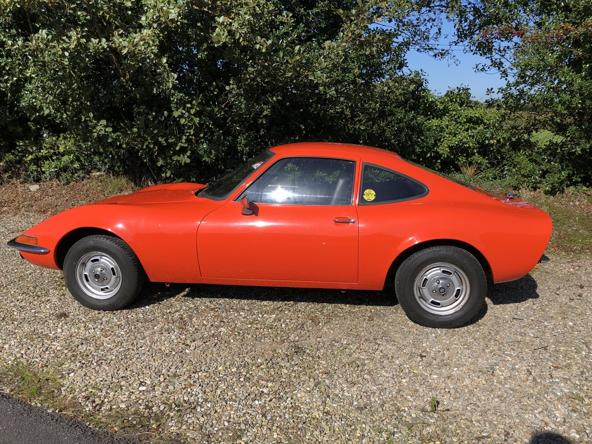 1972 Opel GT Fully restored stunning For Sale (picture 1 of 5)