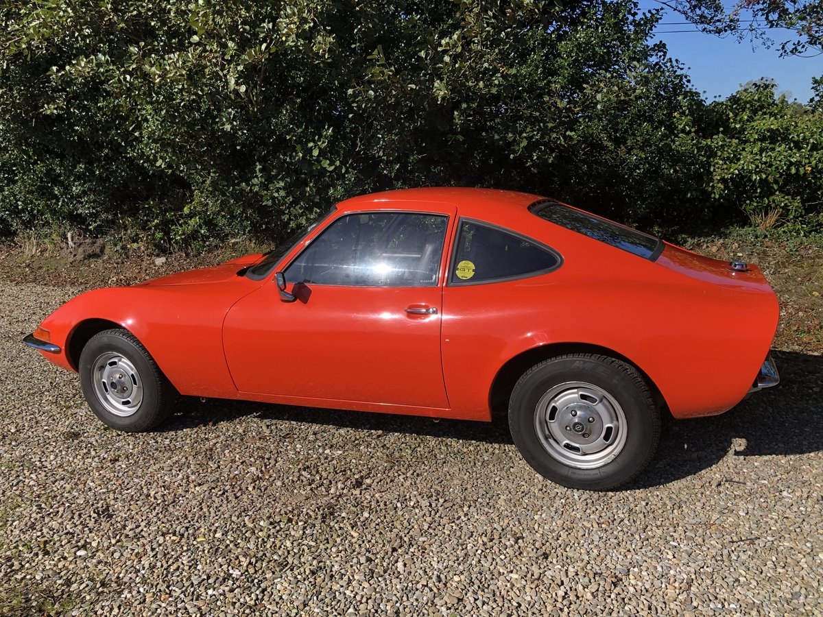 1972 Opel GT Fully restored stunning For Sale (picture 3 of 5)