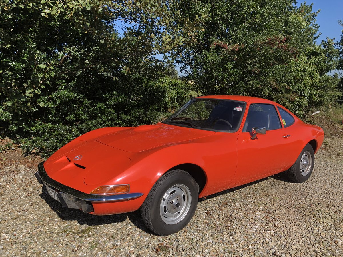 1972 Opel GT Fully restored stunning For Sale (picture 5 of 5)