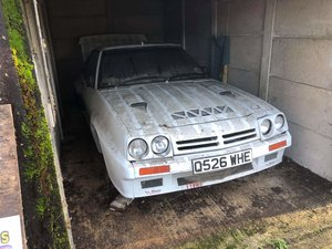 1993 Real barn find 3.5l v8 opel manta rally car