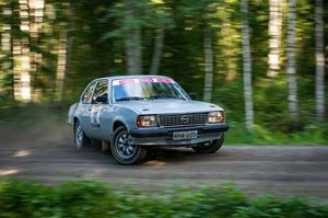 1980 Opel Ascona B FIA Historic rally car group 2