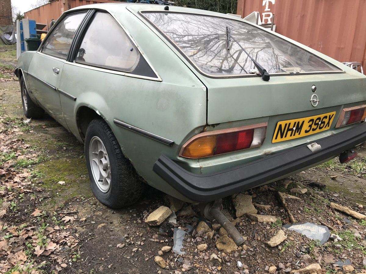 1982 Opel manta  petrol auto - low milage For Sale (picture 2 of 6)