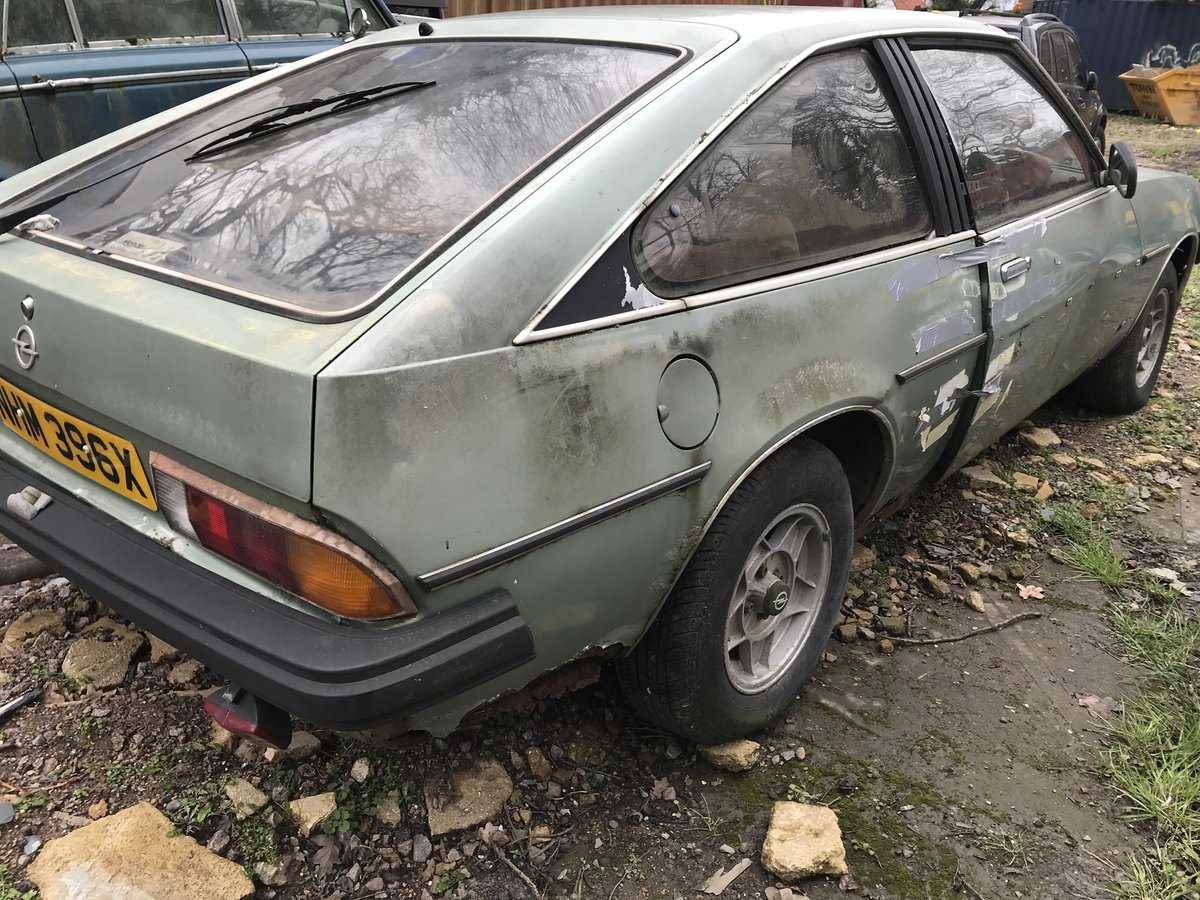 1982 Opel manta  petrol auto - low milage For Sale (picture 3 of 6)