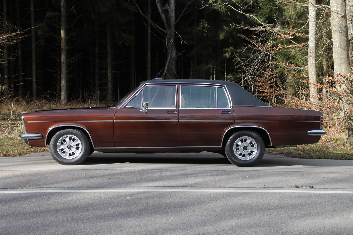 1971 Super cool Opel Diplomat B 2.8E / German Registration SOLD (picture 1 of 6)