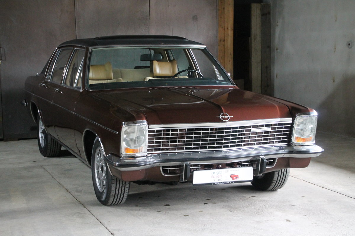 1971 Super cool Opel Diplomat B 2.8E / German Registration SOLD (picture 2 of 6)