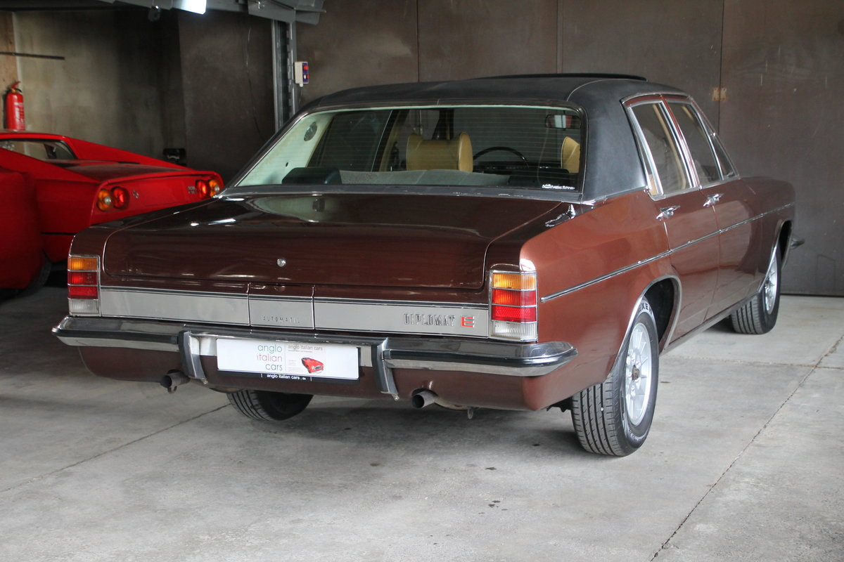 1971 Super cool Opel Diplomat B 2.8E / German Registration SOLD (picture 3 of 6)