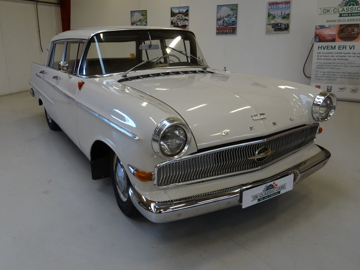 1961 Opel Kapitän P2 For Sale (picture 1 of 24)