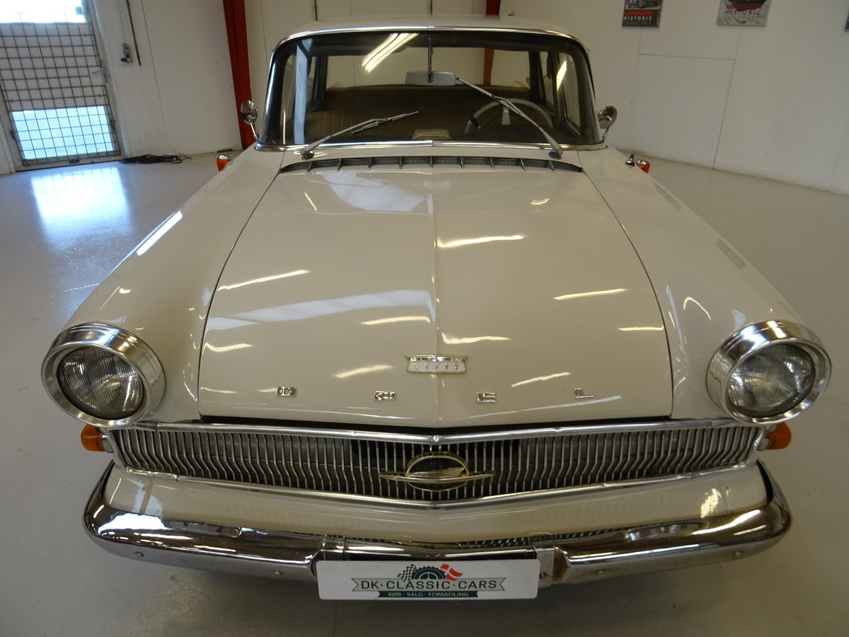 1961 Opel Kapitän P2 For Sale (picture 10 of 24)