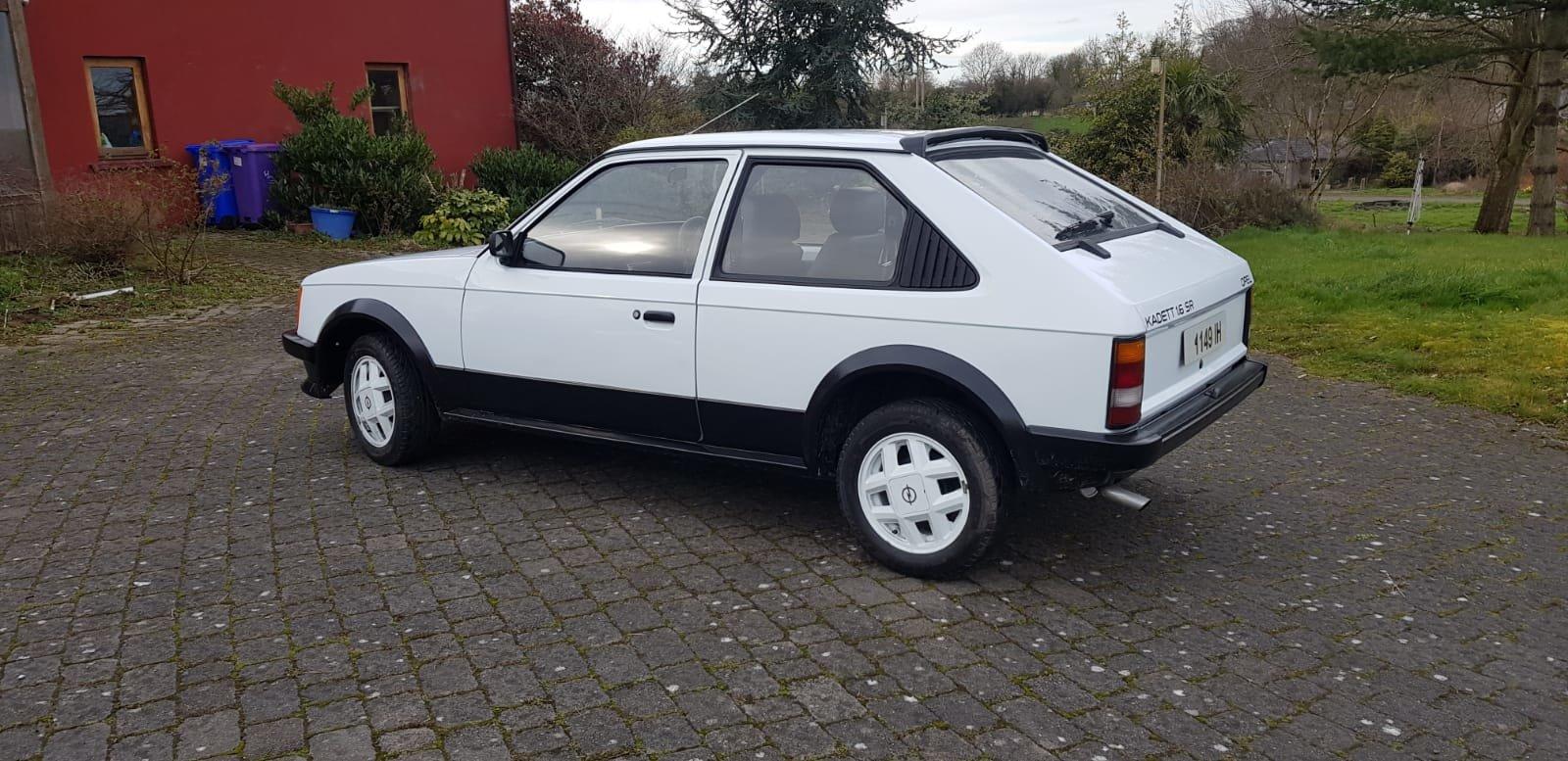 1982 Opel Kadett 1.6SR (Rare 2 door model) For Sale (picture 2 of 6)